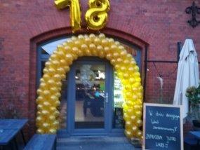 Brama z balonów 18