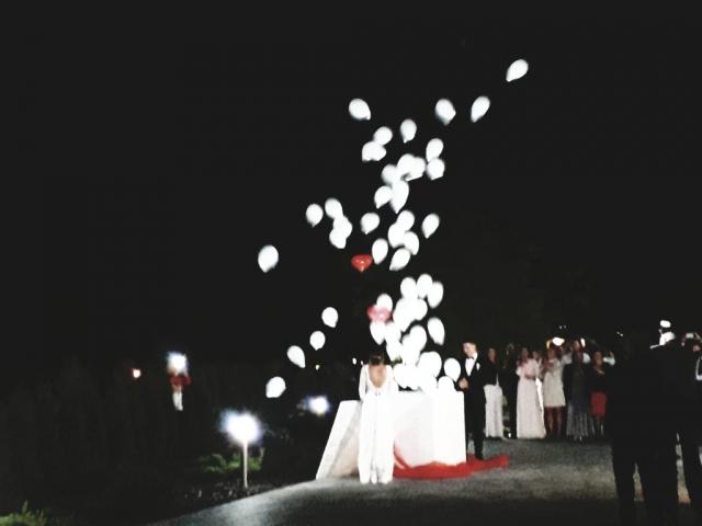 Pudło z balonami